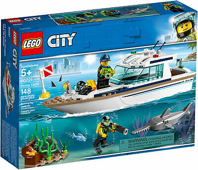 LEGO CITY 60221 Yacht per immersioni