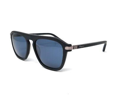 Salvatore Ferragamo Sunglasses SF786S 001 BLACK MATTE Rectangular 55x18x140
