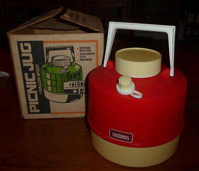 Vintage Thermos 1 Gallon Picnic Jug with original box