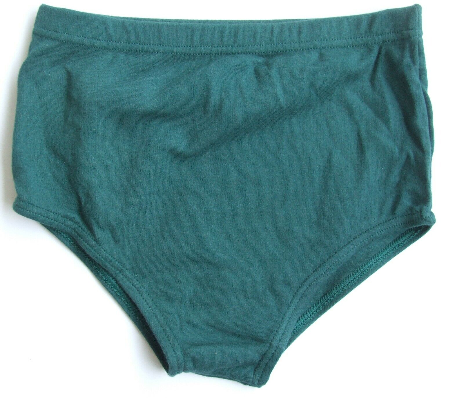School Gym knickers size 8 sports pants netball briefs stretchy cotton Blue