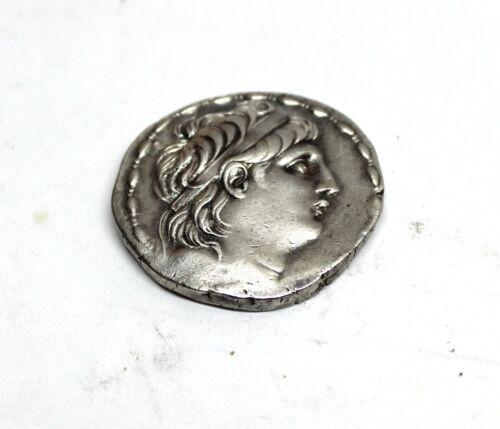 Greek Seleucid Kings Antiochos Vii 138-129 Bc Ar Tetradrachm Head Of Antiochus