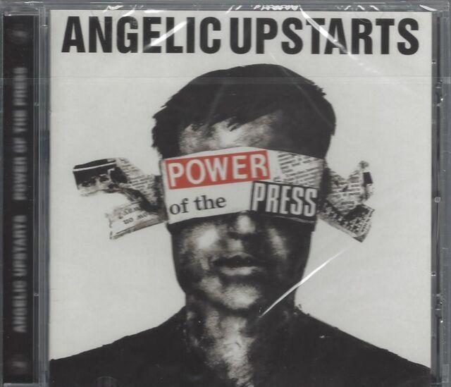 ANGELIC UPSTARTS - POWER OF THE PRESS - (still sealed cd) - WW0057CD