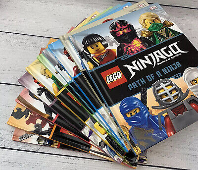 LEGO NINJAGO Collection: 10 Hardcover Books, Boxed Set Excellent Cond. ~No Fig.