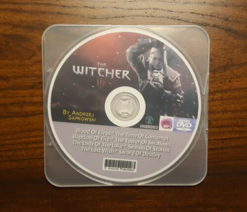 The WITCHER Series - 8 MP3 Audiobook Collection -  by Andrzej Sapkowski