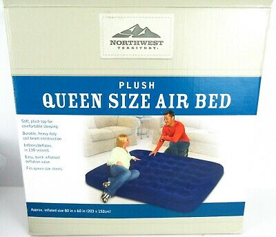 Queen Size Air Bed Northwest Territory Mattress Bed Indoor Outdoor 80