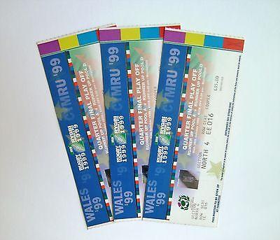RARE Rugby World Cup Memorabilia - Tickets/Stubs Scotland V Manu Samoa 20/10/99