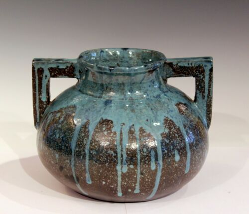 Saturday Evening Girls Paul Revere Pottery Arts & Crafts Original Label SEG Vase