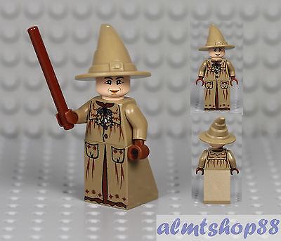 LEGO Harry Potter - Professor Sprout Minifigure w/ Wand & Tan Hat Hogwarts 4867