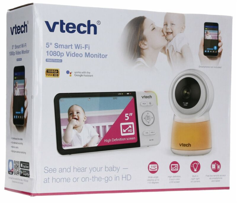 "Vtech Digital 5"" Video Monitor Fixed FHD with Remote Access"