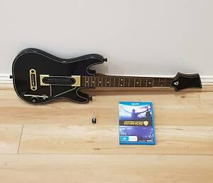Wii U Guitar Hero Live - Game   Guitar   Dongle - FREE  DELIVERY