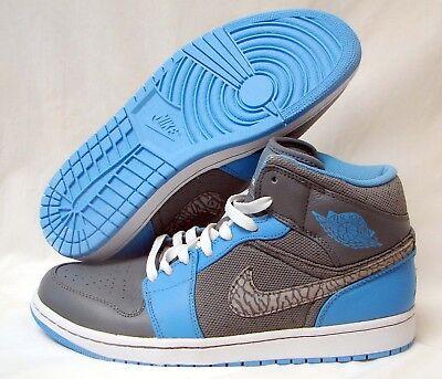b7aee7ca8ac4 Nike Air Jordan Retro 1 Hi Flyknit Black Game Royal 919704-006 8-14 og 11  ...