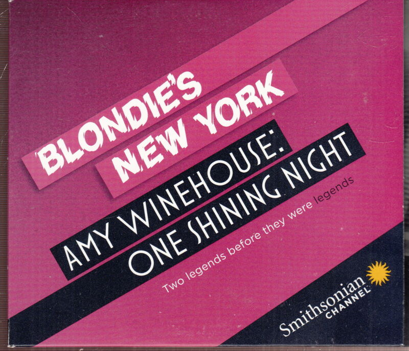 blondie / amy winehouse limited edition dvd