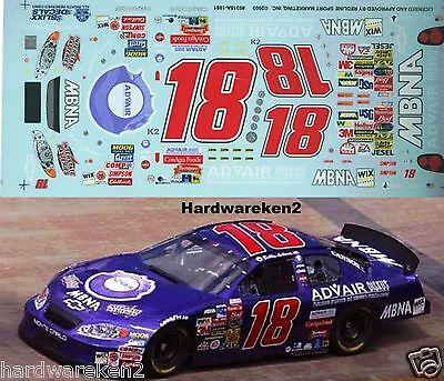 NASCAR DECAL #18 ADVAIR 2003 MONTE CARLO  BOBBY LABONTE SLIXX