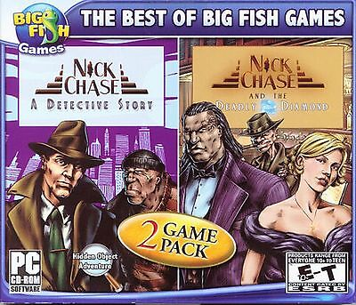 Nick Chase  A Detective Story   The Deadly Diamond Hidden Object Pc Game New