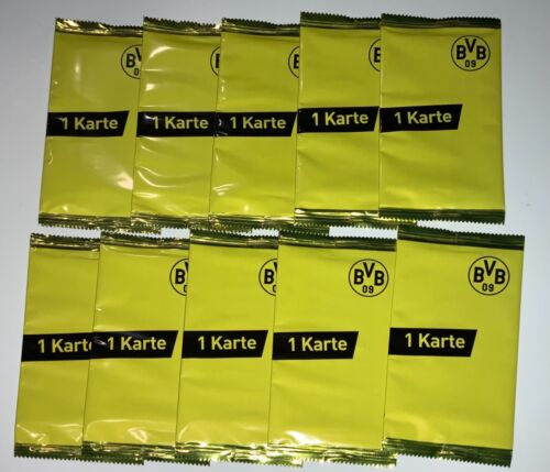 2021 Topps BVB Team Set Borussia Dortmund Sealed Pack LOT (10) Parallel or Auto