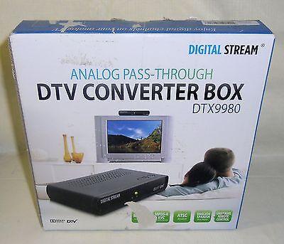 New Digital Stream DTX9980 DTV Converter Box Remote Control DTX9950 Upgrade ATSC