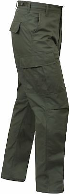 Regular Ripstop Bdu Pants - OD GREEN MENS 5935 ROTHCO BDU PANTS MILITARY TACTICAL 100%COTTON RIPSTOP XS- 3X