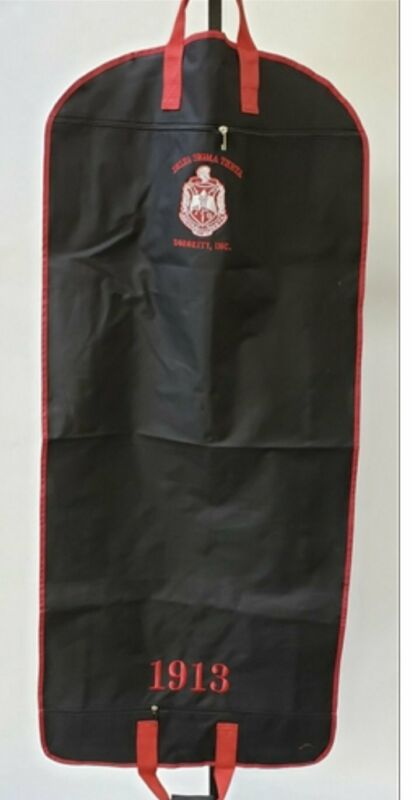 Delta Sigma Theta - Garment Bag (Black)