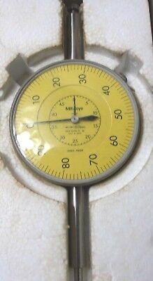 "Mitutoyo 3058-11 Large Yellow Face Dial Indicator 0.01"""
