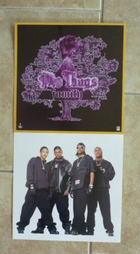 Mo Thugs Family LP Record Photo Flat 12X24 Poster