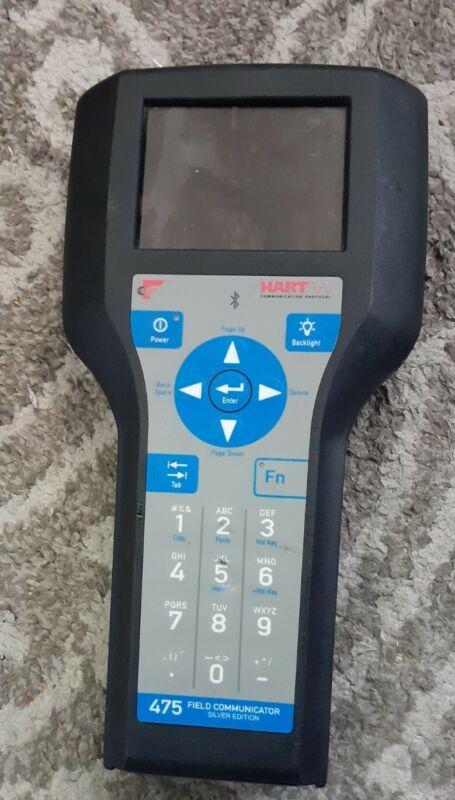 NEW - Emerson Hart 475 Field Communicator Silver edition Rosemount Bluetooth