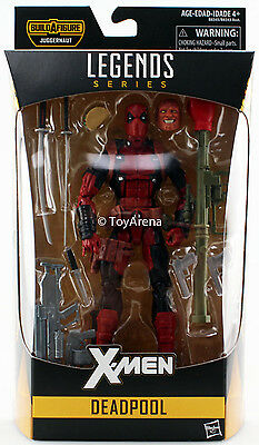 Hasbro Marvel Legends X-Men 2016 Deadpool 6'' Action Figure USA Free Shipping