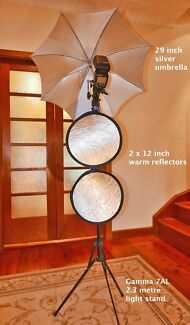 Studio light stands, umbrella & reflectors Sydney Balgowlah Heights Manly Area Preview