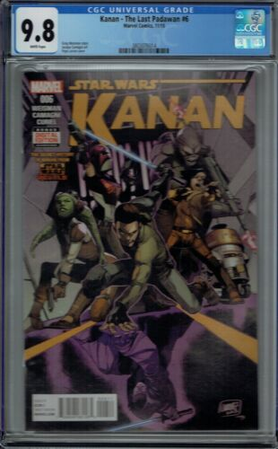 CGC 9.8 KANAN THE LAST PADAWAN #6 1ST FULL APPEARANCE SABINE WREN STAR WARS