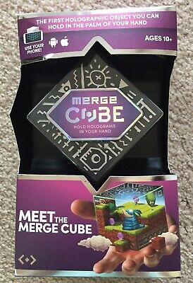 Merge Cube - FIRST HOLOGRAPHIC OBJECT YOU CAN HOLD IN THE PALMOF YOUR HAND