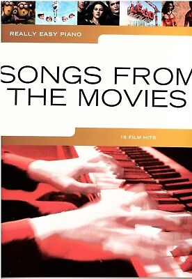 Klavier Noten : Songs From The Movies  (Really Easy Piano)  leicht  - AM 1009932