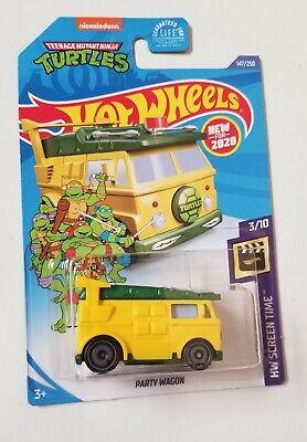 2020 Hot Wheels TMNT Party Wagon * J Case * NIP 1:64 Scale