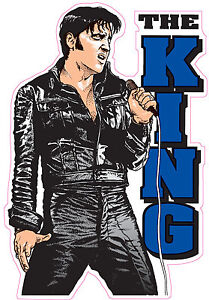 ELVIS-THE-KING-STICKER