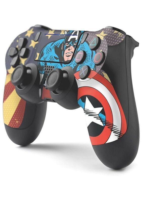 Marvel Comics PS4 Controller Skin - Captain America - Controller Gear Skin