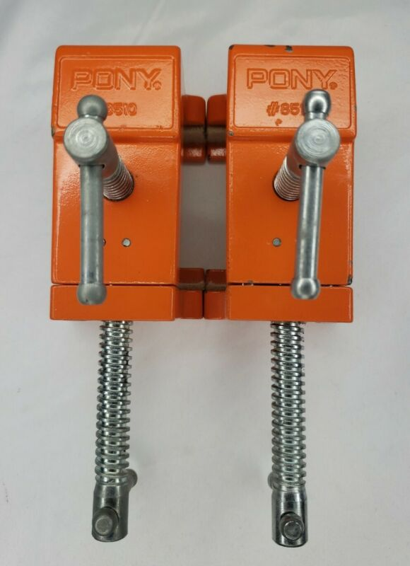2 Pony #8510 Cabinet Claw Clamps, Face Frame Cabinet Clamps - Made in USA