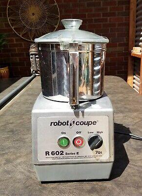 Robot Coupe R602n Series E Heavy Duty Food Processor W Bowl Blade R602