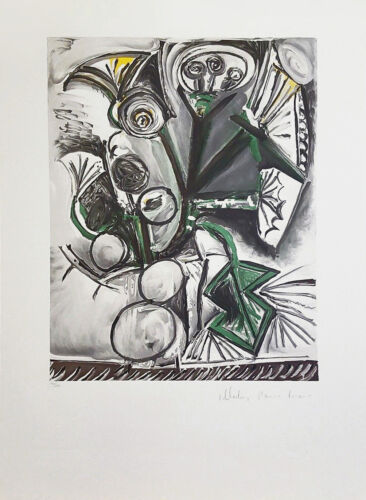 "Marina Pablo Picasso Estate ""le Bouquet"" 