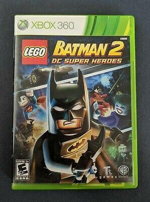 LEGO Batman 2: DC Super Heroes (Microsoft Xbox 360, 2012) CIB, Tested
