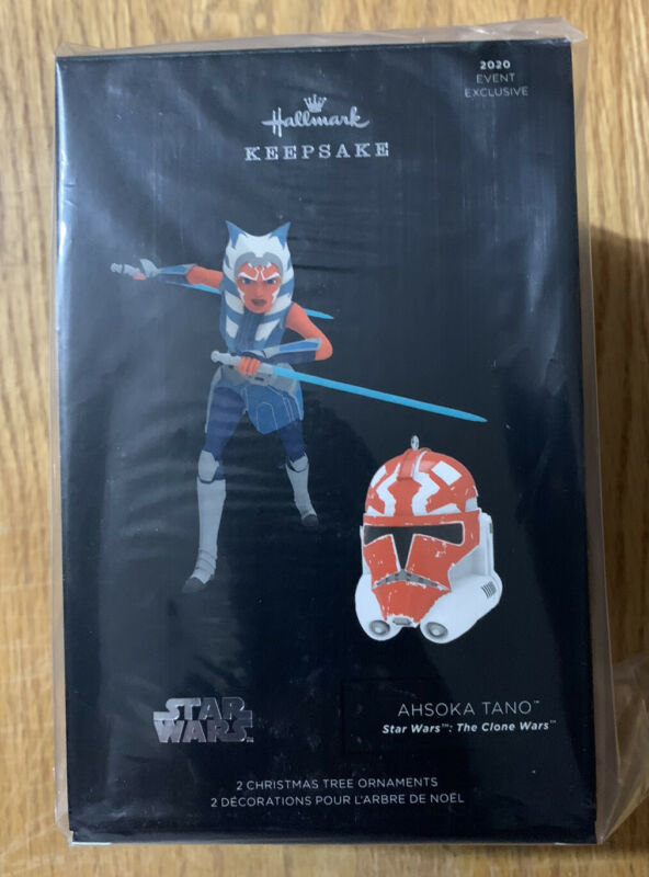 2020 Star Wars Celebration Hallmark Ahsoka Tano Ornament Exclusive