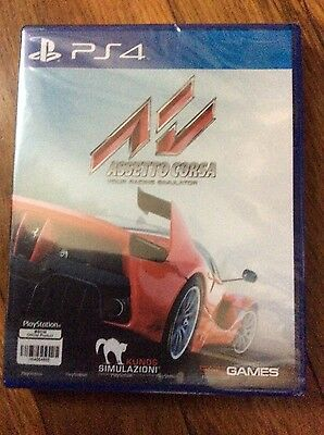 Assetto Corsa ( Sony PlayStation 4 2016 ) Brand new