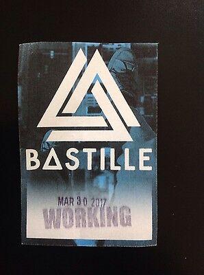 """Bastille """"Wild, Wild World Tour"""" Working Crew pass - 2017 - NYC"""