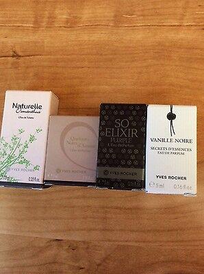 mini set of fragrances Elixir purple,Vanille and Notes de amour,Naturelle 0.16oz