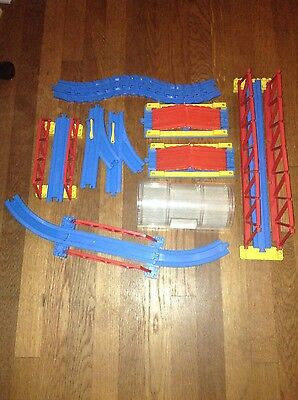Lot of Thomas Tomy Train Tracks, Bridges, Risers, Tunnel & Flex Track