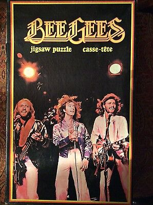 Vintage BeeGees Jigsaw Puzzle 1979 COMPLETE