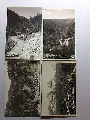 Oak Creek Canyon Arizona (9) Real Photo Postcard Lot RPPC