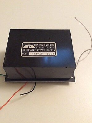 Polytron Devices P53-15 1291 Regulated Power Supply