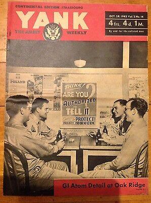 Yank The Army Weekly Oct 28 1945 vol 2 no 14