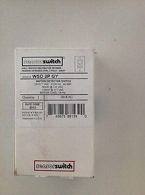 Sensor Switch Occupancy Sensor Wsd-2p-gy