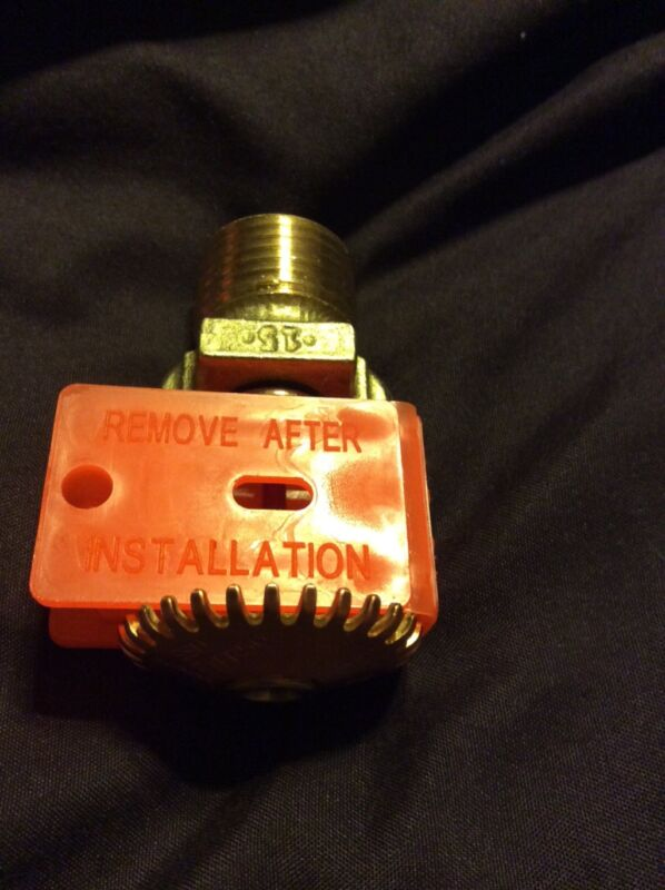 "Rasco Automatic Sprinkler 155 degree quick response K factor 5.6  1/2"" thread"