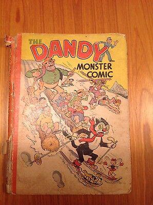 1945 Dandy monster comic annual