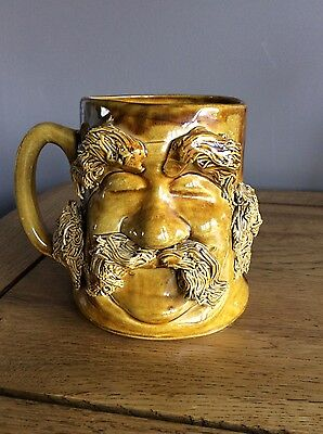 Pete's People Pottery Mug Old Man Face
